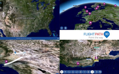 Satellite imagery and moving maps, key elements in Inflight Entertainment solutions