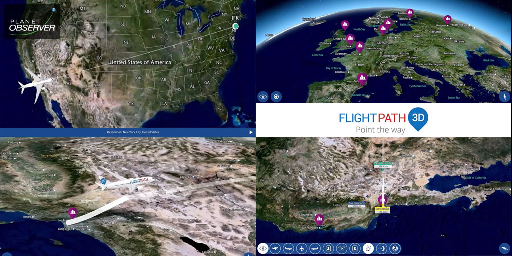 Satellite imagery, a key element in Inflight Entertainment solutions
