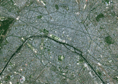 Satellite Image PlanetSAT Global - Paris, France - 10m