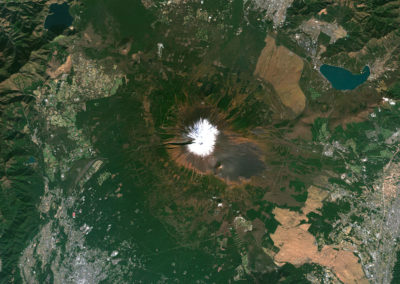 Satellite image PlanetSAT Global - Mount Fuji, Japan - 10m