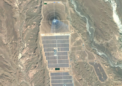 Satellite Image PlanetSAT Global - Noor Solar Power Station, Morrocco - 10m