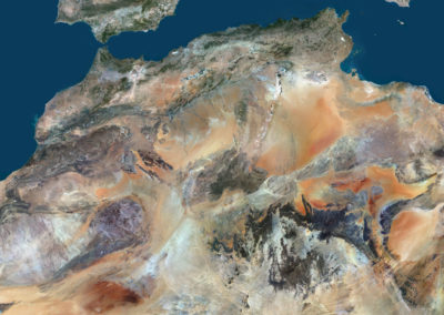 Satellite Image PlanetSAT Global - Northern Africa