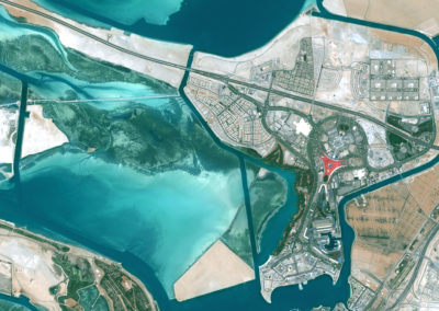 Satellite Image PlanetSAT Global - Abu Dhabi, UAE - 10m