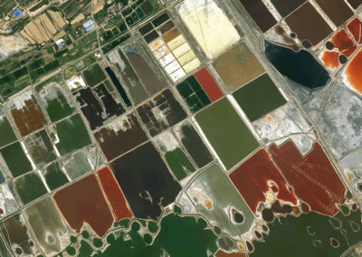 Satellite Image Pléiades - Yucheng-Salt Lake, China - 50cm