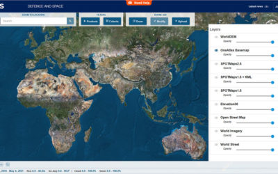 How to enhance User Experience with Medium Resolution Global Imagery ?
